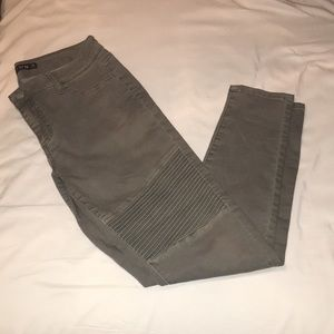 Never worn! Army green jeans